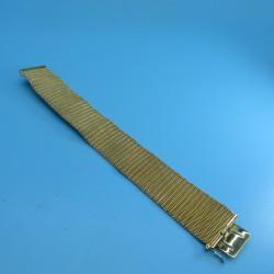 Vintage 1960s Gold Plated Mesh Bracelet by Grosse
